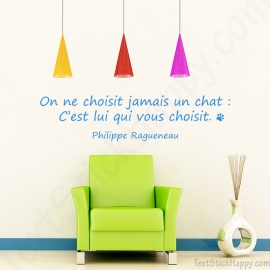 Stickers citation chat