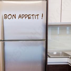 Stickers frigo bon appétit