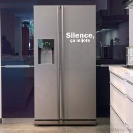 stickers frigo d co humoristique pour votre cuisine cuisinier et chef. Black Bedroom Furniture Sets. Home Design Ideas