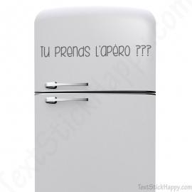 Stickers frigo apéro
