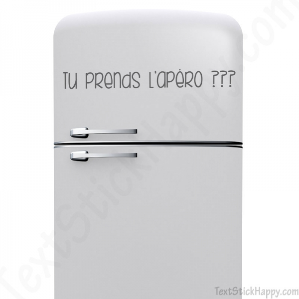 stickers frigo d co humoristique pour votre cuisine cuisinier et chef. Black Bedroom Furniture Sets. Home Design Ideas