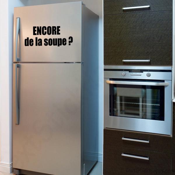 Stickers Frigo D Co Humoristique Pour Votre Cuisine
