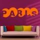 Stickers Paris mot