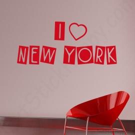 Stickers I love New York