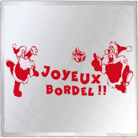 Stickers Joyeux Bordel