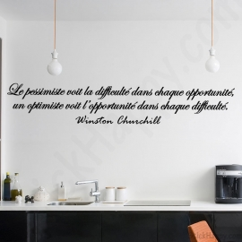 Stickers citation Winston Churchill