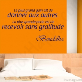 D Coration Bouddha Bouddhisme Stickers Citations Pour