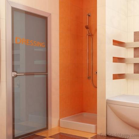 stickers dressing. Black Bedroom Furniture Sets. Home Design Ideas