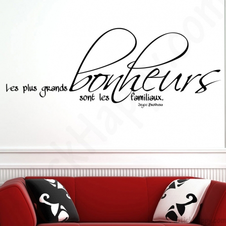 Decorer Un Mur De Salon Stickers