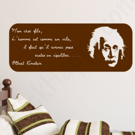 Stickers citation Einstein