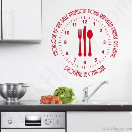Stickers cuisine stickers citation pour Stickers pour la cuisine