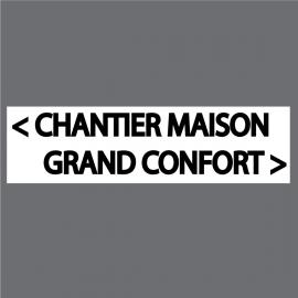 Panneaux Fléchage Chantier, Atelier, Manifestation - StickHappy.com