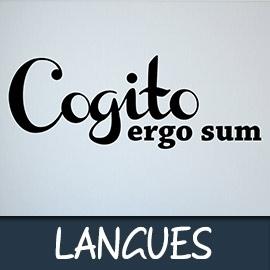 Les langues et dialectes