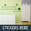 Stickers bébé