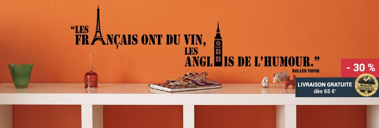 Stickers citation vin